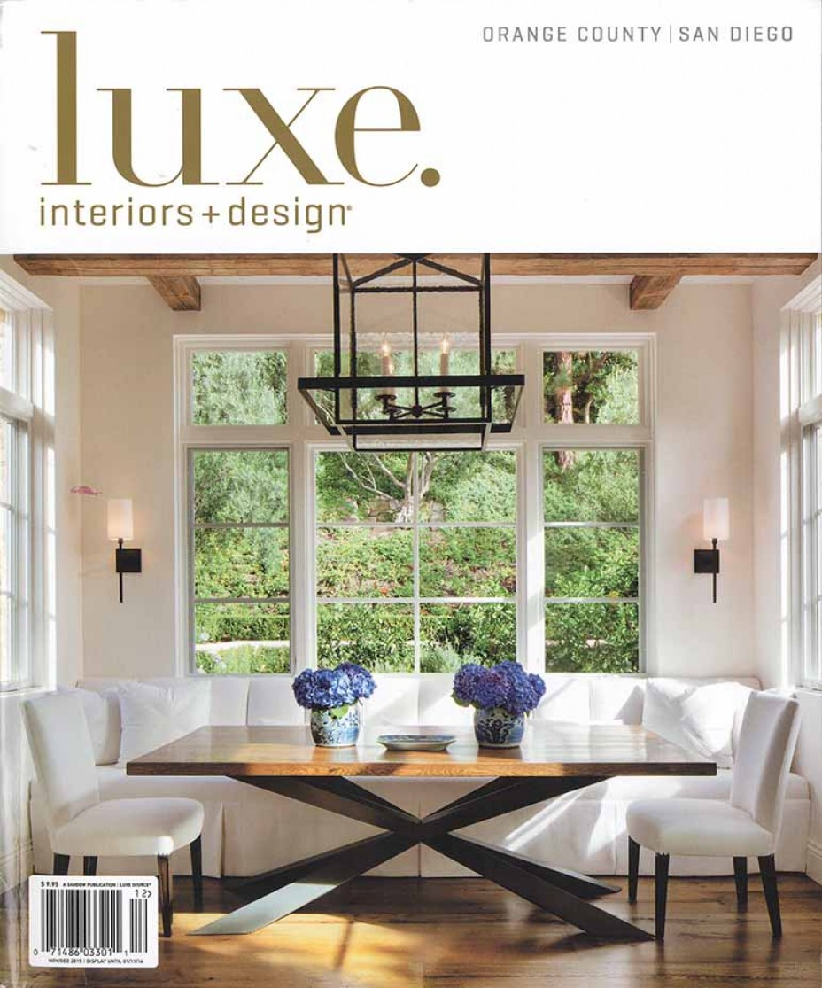 Luxe interiors for Luxe furniture and design